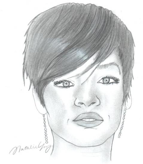 Rihanna por Nataliee.
